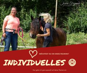 Individuelles Training - Exklusive Zeit mit deinem Pferd